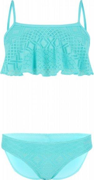 Бикини для девочек , размер 152 Joss. Цвет: голубой