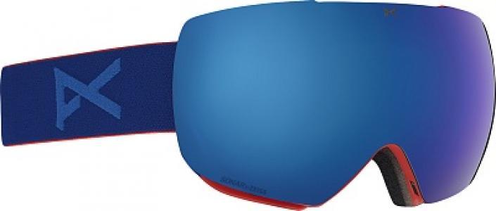 Маска сноубордическая Mig Anon. Цвет: синий
