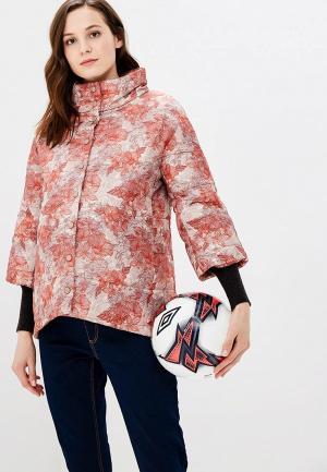 Куртка утепленная Очаровательная Адель. Цвет: разноцветный
