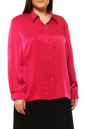 Блуза FRANK WALDER. Цвет: розовый