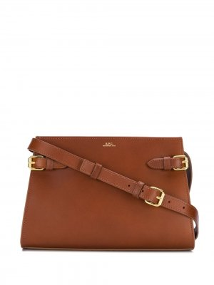 Charlotte bag A.P.C.. Цвет: коричневый