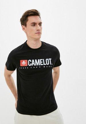 Футболка Camelot. Цвет: черный
