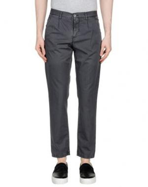 Повседневные брюки BASIC. Цвет: свинцово-серый