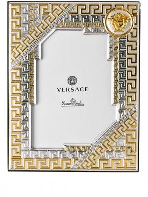 Фоторамка Medusa Gala Versace Home. Цвет: желтый