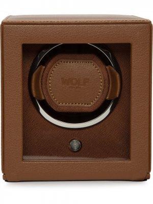 Виндер для наручных часов Cub Wolf. Цвет: коричневый