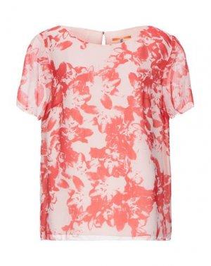Блузка BOSS HUGO. Цвет: красный