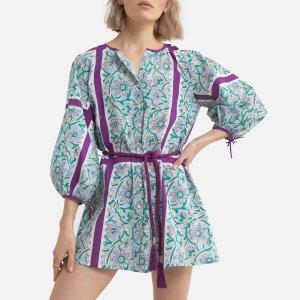 Платье LaRedoute. Цвет: синий