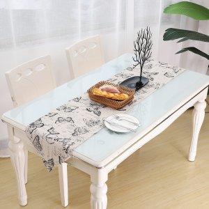 Подстилка для сервировки стола с принтом бабочки SHEIN. Цвет: многоцветный