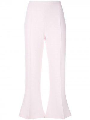 Укороченные брюки клеш Antonio Berardi. Цвет: розовый