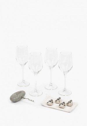 Набор подарочный Ice Stone iss-wineset-blue-3d. Цвет: разноцветный