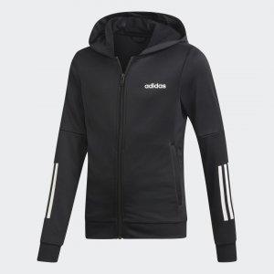 Толстовка Linear Logo Performance adidas. Цвет: черный