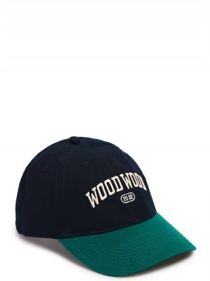 Кепка WOOD. Цвет: темно-синий