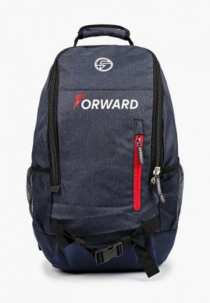 Рюкзак Forward. Цвет: синий