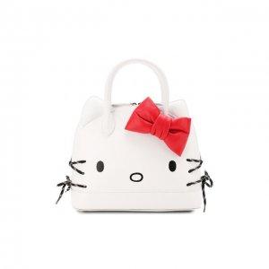 Сумка Hello Kitty S Balenciaga. Цвет: белый