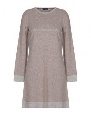 Короткое платье ANNECLAIRE. Цвет: хаки