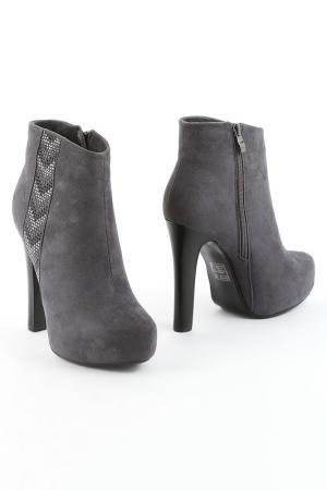 Ботинки 1TO3. Цвет: серый