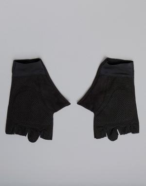 Черные перчатки Training CV5844 Reebok. Цвет: черный