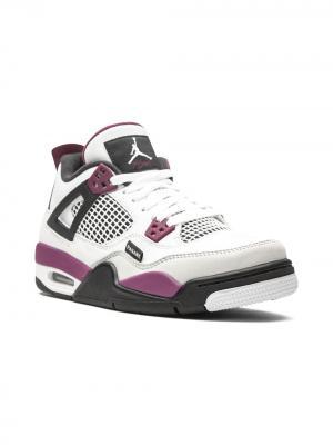 Кроссовки Air Jordan 4 Retro Paris Saint Germain Kids. Цвет: белый