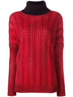 Turtleneck sweater Avant Toi. Цвет: красный
