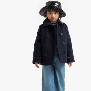 Куртка-пальто LaRedoute. Цвет: синий