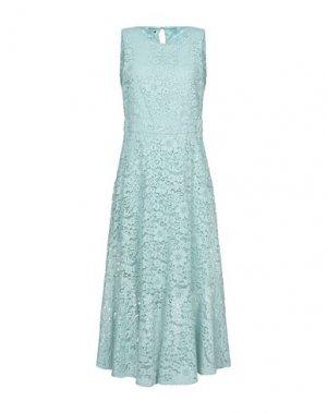 Платье длиной 3/4 ANNARITA N. Цвет: небесно-голубой