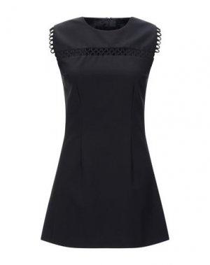 Короткое платье HOTEL PARTICULIER. Цвет: черный