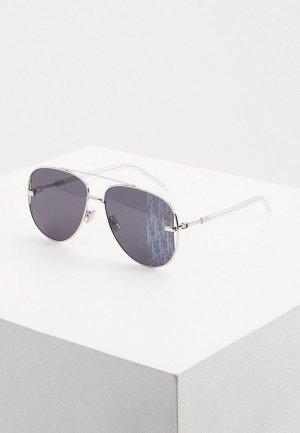 Очки солнцезащитные Christian Dior Homme DIORSCALE 010. Цвет: серебряный