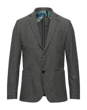 Пиджак NEILL KATTER. Цвет: свинцово-серый