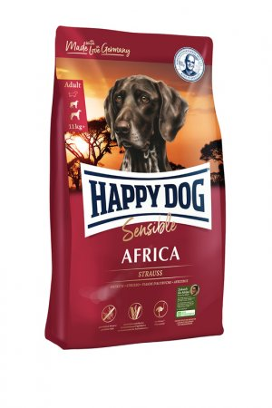 Сухо корм для собак 1 кг HAPPY DOG. Цвет: белый