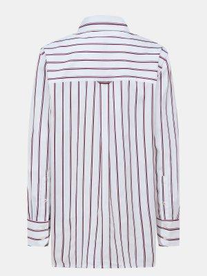Рубашка Tommy Hilfiger. Цвет: belyy