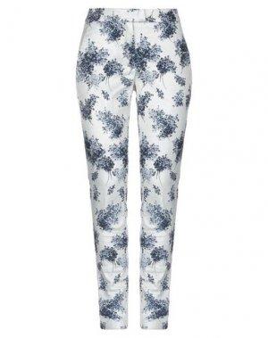Повседневные брюки 1-ONE. Цвет: серебристый