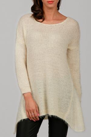 Пуловер Cocogio. Цвет: бежевый