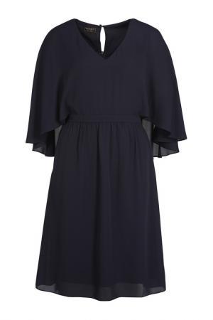 Платье Apart. Цвет: темно-синий