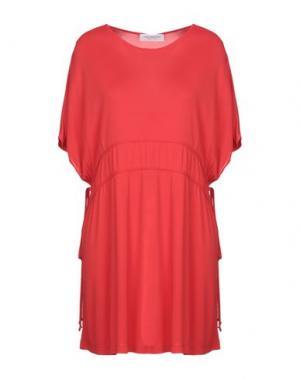 Короткое платье ANNA RACHELE. Цвет: красный