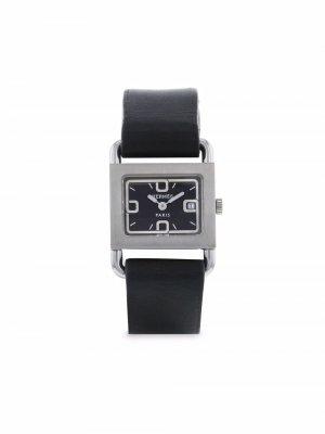 Наручные часы Barenia pre-owned 25 мм 1990-х годов Hermès. Цвет: черный