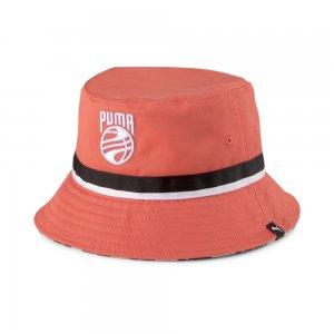 Панама Basketball Bucket Hat PUMA. Цвет: оранжевый