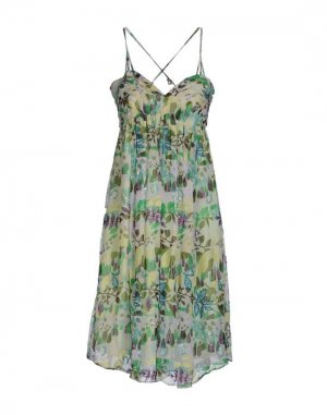 Платье до колена HOLLY GOLIGHTLY. Цвет: светло-зеленый