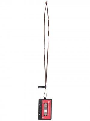 Картхолдер Tape Yohji Yamamoto. Цвет: красный