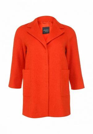 Пальто Persona by Marina Rinaldi. Цвет: оранжевый