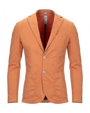 Пиджак MARTIN ZELO. Цвет: оранжевый