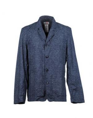 Пиджак GARBSTORE. Цвет: темно-синий