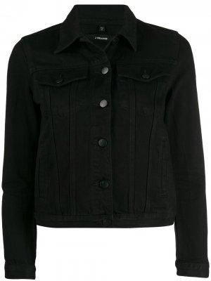 Джинсовая куртка J Brand. Цвет: черный