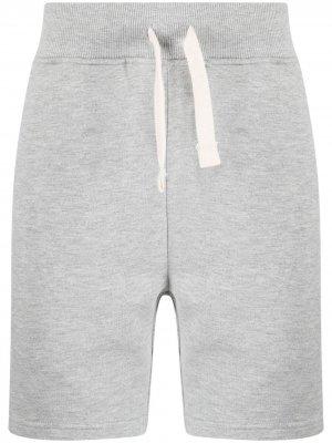 Спортивные шорты с принтом Hydrogen. Цвет: серый