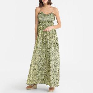 Платье LaRedoute. Цвет: желтый
