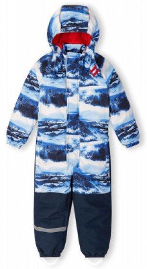 Комбинезон для мальчиков Laikko, размер 104 Reima. Цвет: синий