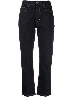 Укороченные джинсы Joseph. Цвет: синий