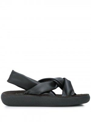 Сандалии Meleti Ancient Greek Sandals. Цвет: черный