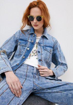 Куртка джинсовая M Missoni. Цвет: голубой