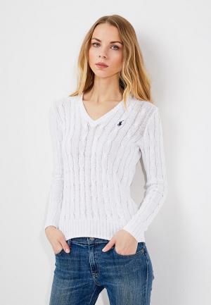 Пуловер Polo Ralph Lauren. Цвет: белый