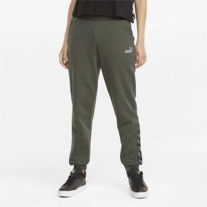 Штаны POWER Womens Pants PUMA. Цвет: зеленый